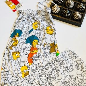The Simpson's pajama bottoms